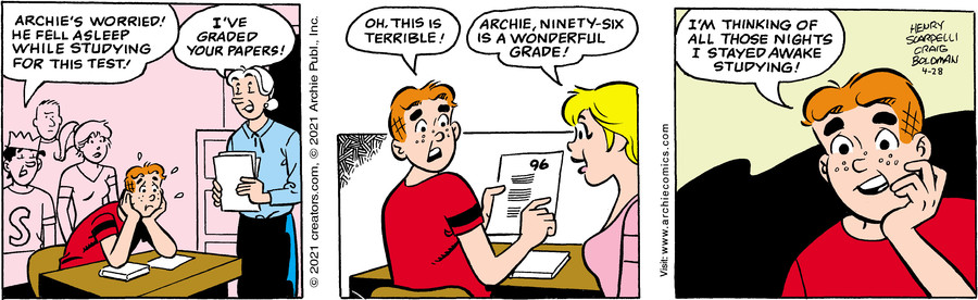 Archie for Apr 28, 2021
