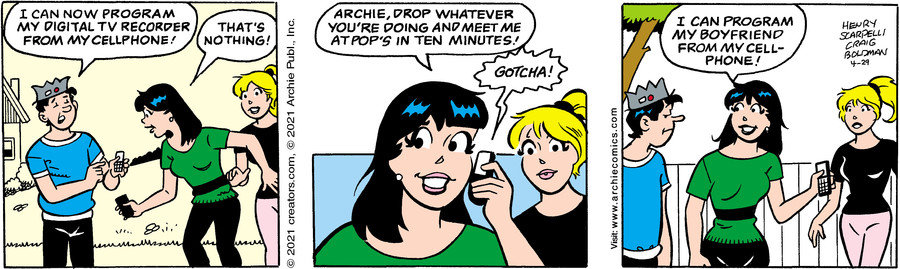 Archie for Apr 29, 2021