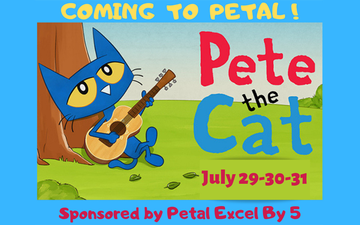 Pete The Cat Pays Visit To Petal For Reading Event Hubcityspokes